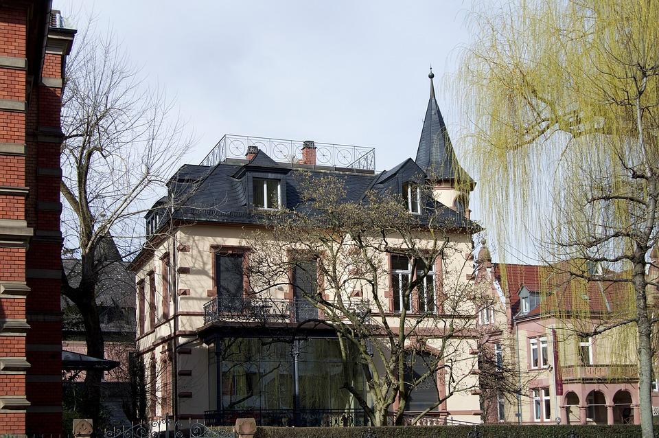 Villa, Heidelberg, Weststadt, House, Building