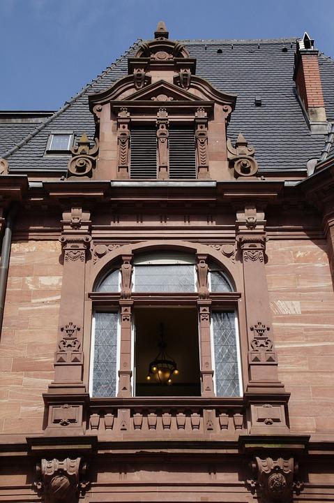 Architecture, House, Old, Building, Window, Heidelberg
