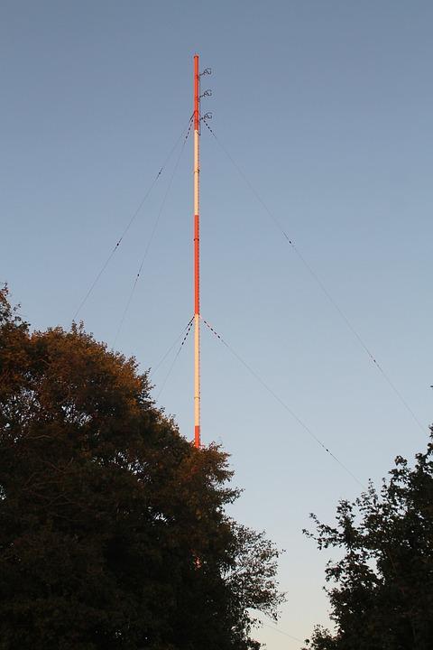 Heidelberg, American Forces Network, Radio, Antenna