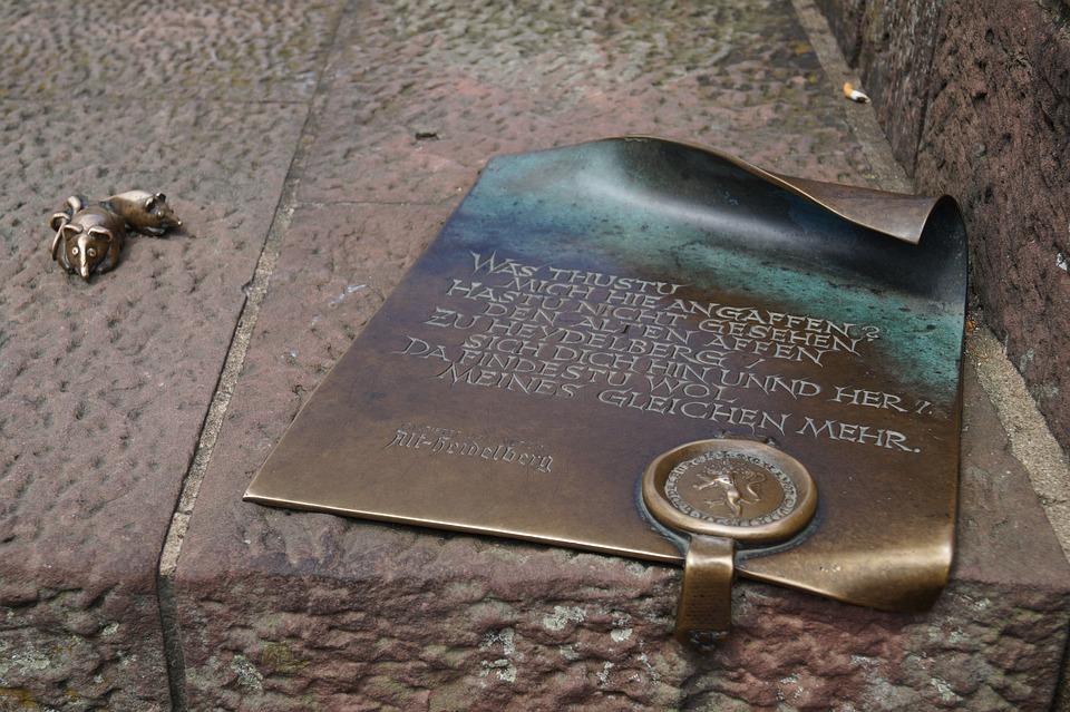 Script, Heidelberg, Historically, Bronze, Seal