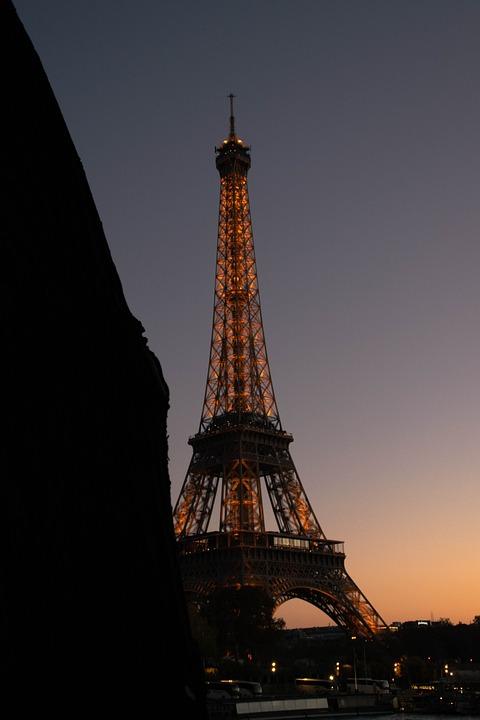 Paris, Eiffel, Architecture, City, France, Height