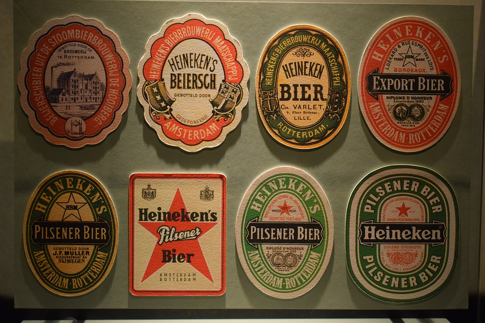 Coasters, Heineken, Holland, Beer, Collection