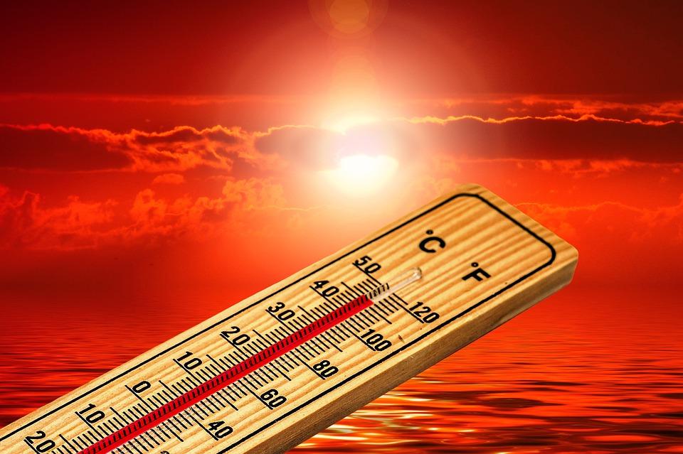 Heiss Thermometer Sun Heat Summer Temperature 4767444