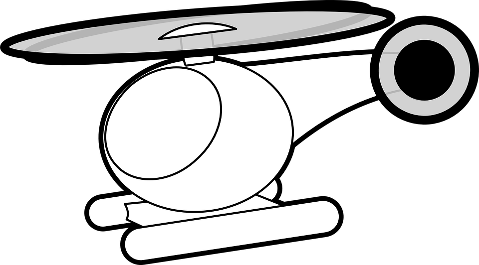 Helicopter, Fly, Air, Transport, Transportation, Icon