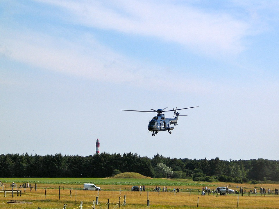 Helicopter, Fly, Air Transports, Military
