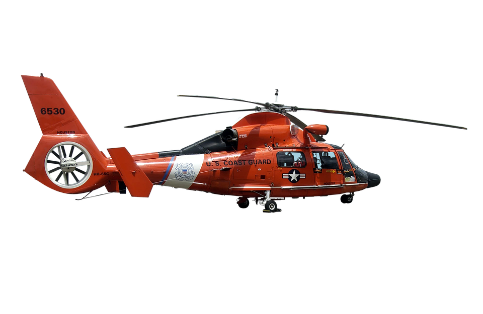 Helicopter, Rescue, Transport, Emergency, Coast Guard