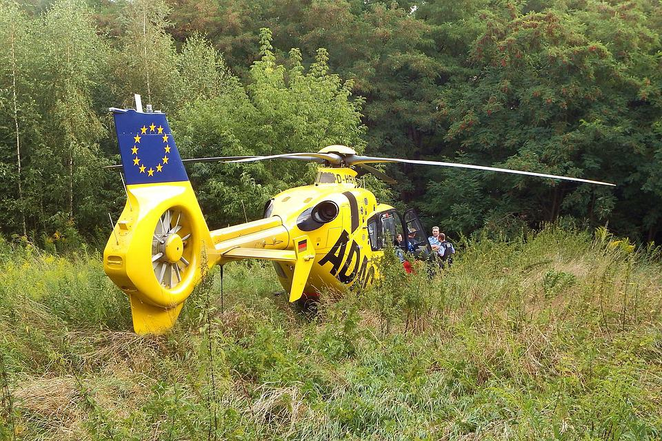 Helicopter, Rescue, Adac Air Rescue, Rescue Helicopter