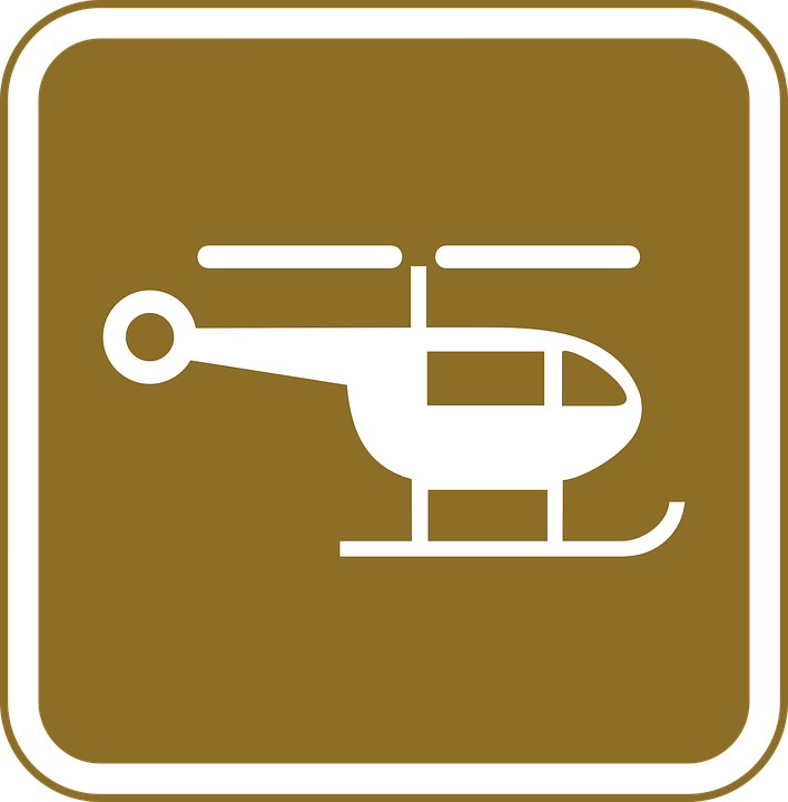 Transportation, Fly, Air, Travel, Helicopter, Sign