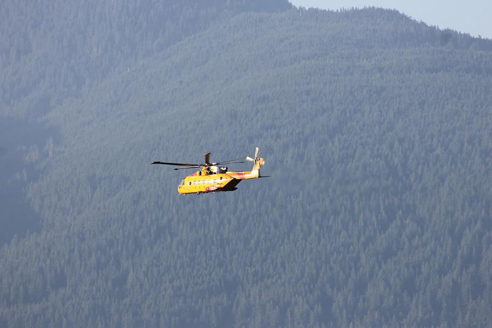 Helicopter, Vancouver, Canada