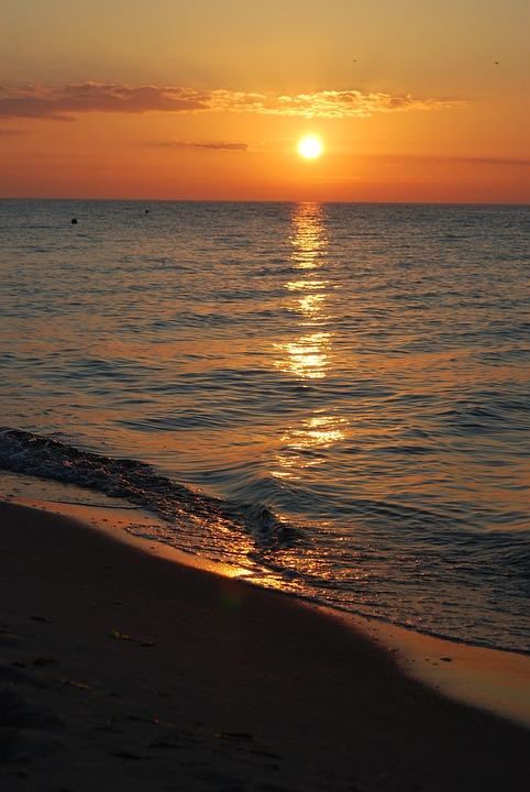 Sunrise, Sea, Helium, The Sun