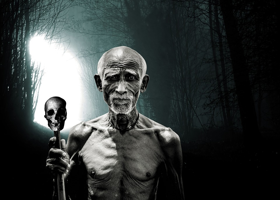 Death, Hell, Dark, Black, The Old Man, Hell The Main