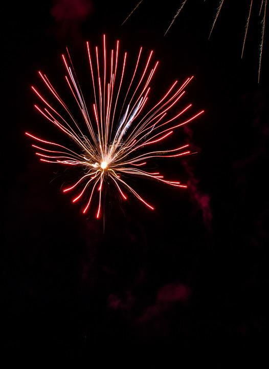 Fireworks, Pyrotechnics, Light, Explosion, Night, Hell