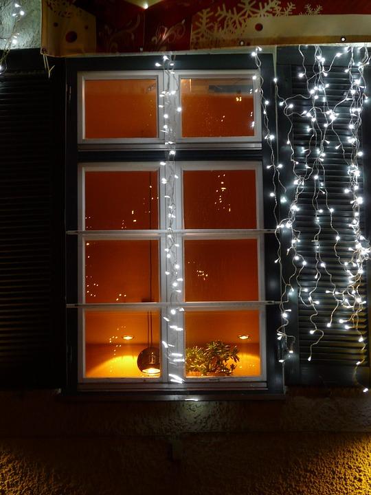 Window, Lighting, Lichterkette, Light, Hell