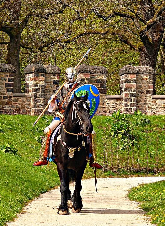 Cavalry, Human, Mammalian Romans, Helm, Historically