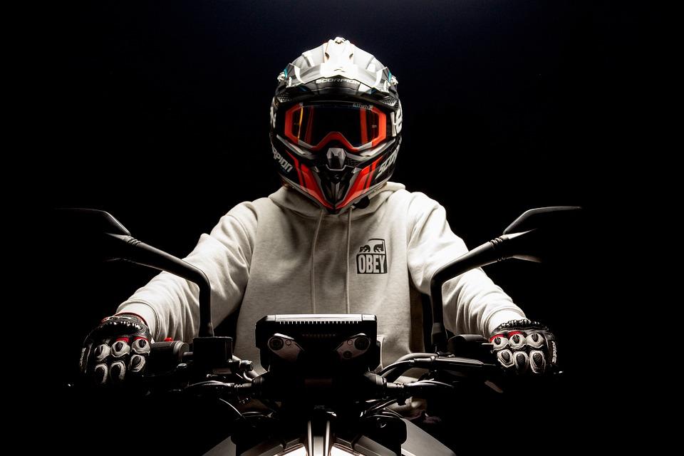 Motorcycle, Helmet, Rider, Biker, Motorcyclist, Man
