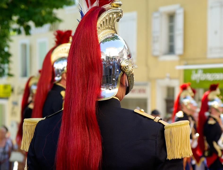 France, Republican Guard, Helmet, Military