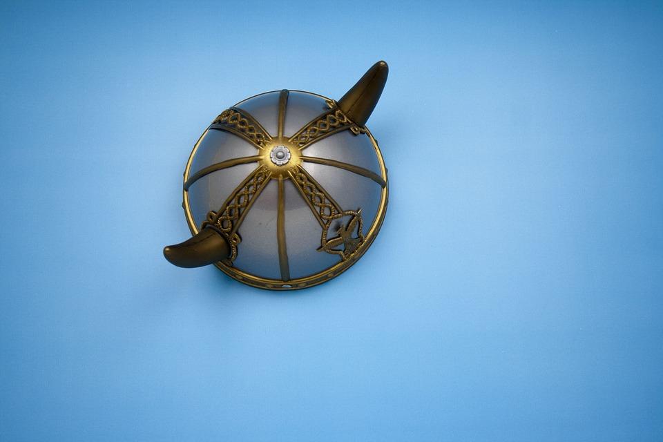 Helmet, Viking, Horns, Warrior, Scandinavian, Ancient