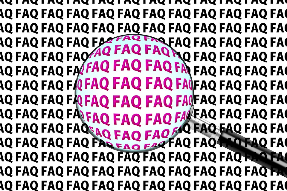 Faq, Questions, Often, Help, Support, Problem Solution