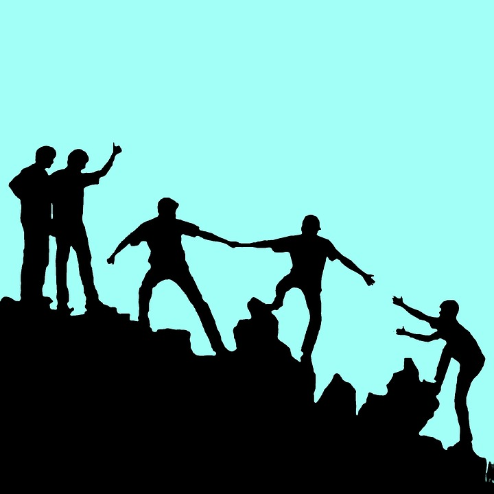 Together, Helping Each Other, Winning, Teamwork