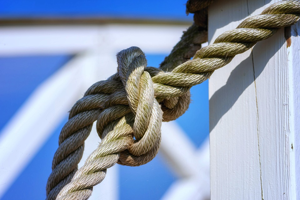 Knot, Rope, Knitting, Hemp, Connection, Leash