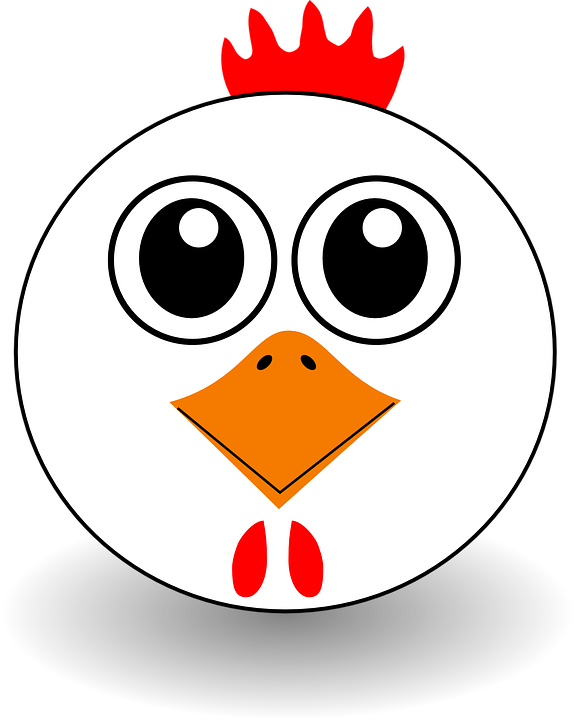 Chicken, Hen, Rooster, Chick, Farm Animal, Beak