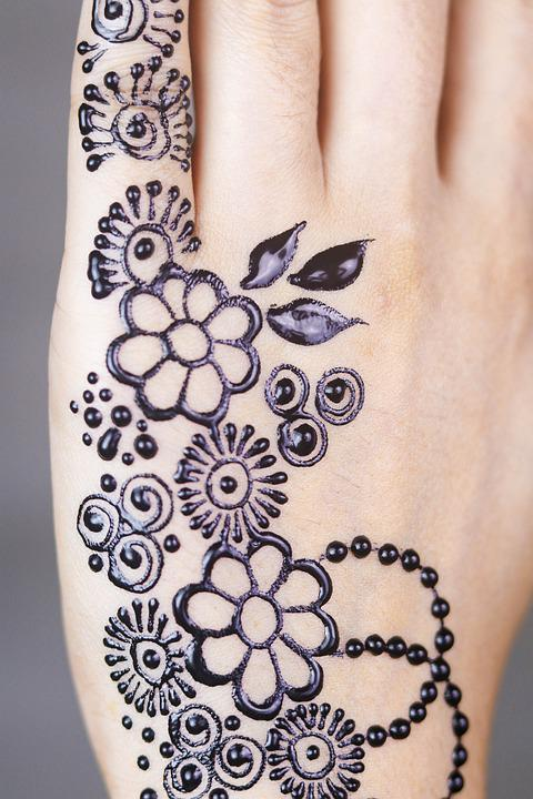 Henna, Hands, Mehendi, Pattern, Female, Palms, Design
