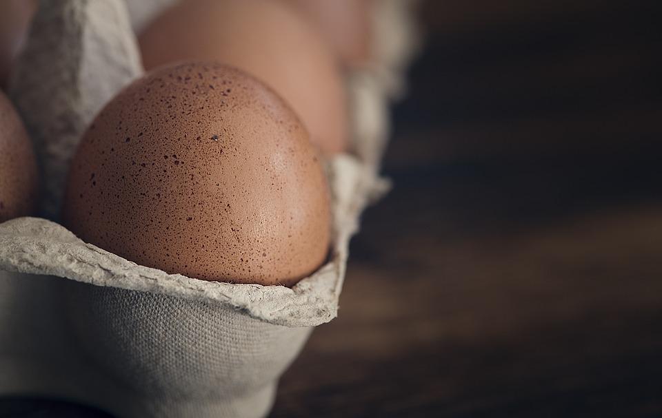 Egg, Hen's Egg, Raw Egg, Eggshell, Egg Box