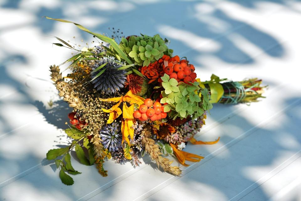 Bouquet, Herb, Herbs, Flowers Wildflowers, Field Plant