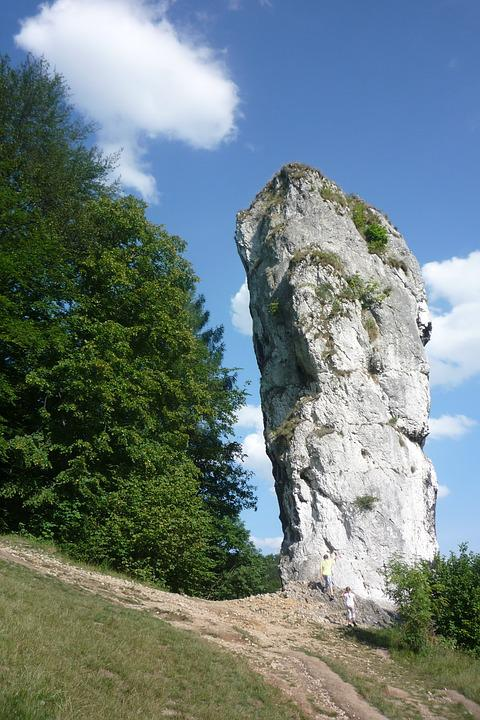 Pieskowa Skała Castle, Poland, Hercules's Mace