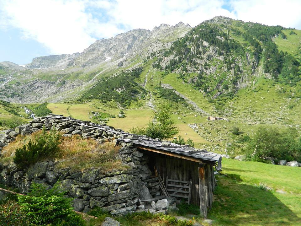 Herdsman, House, Chalet, Drevenica, Mountains, Forest