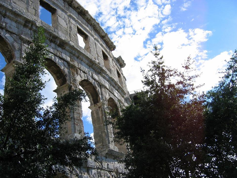 Pula, Croatia, Amphitheater, Heritage