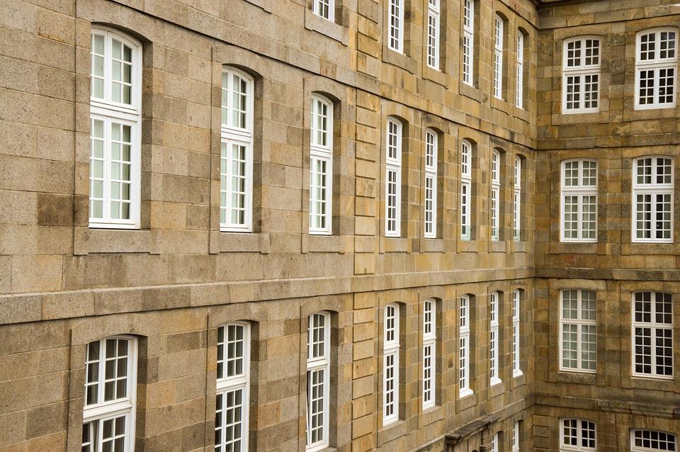 Architecture, Heritage, Facade, Window, Saint Malo
