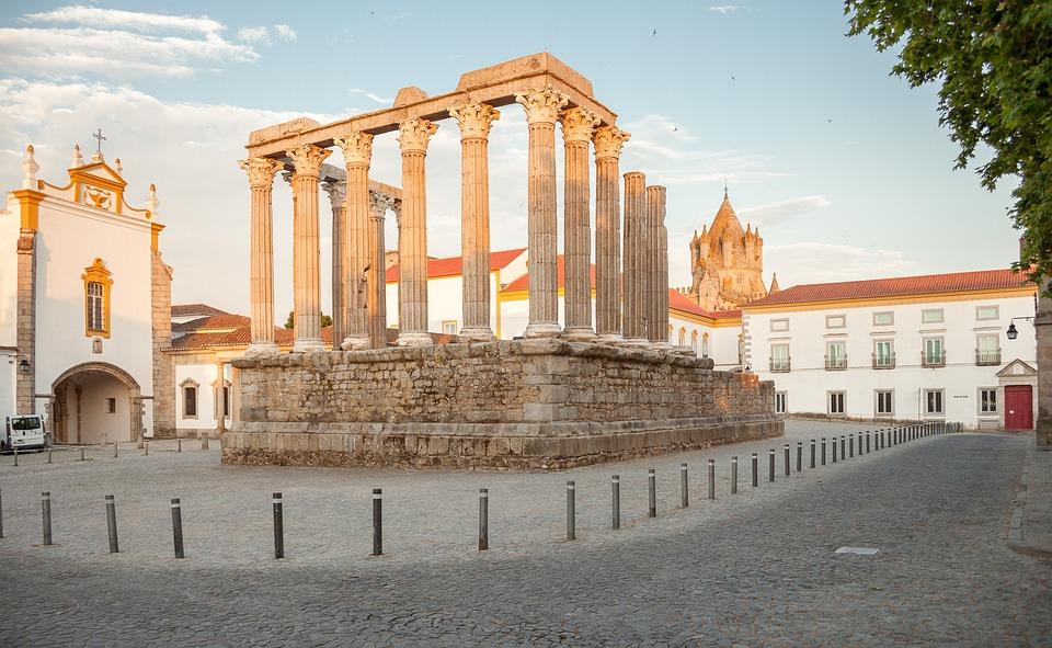 évora, Portugal, Heritage, History, Romano, Alentejo