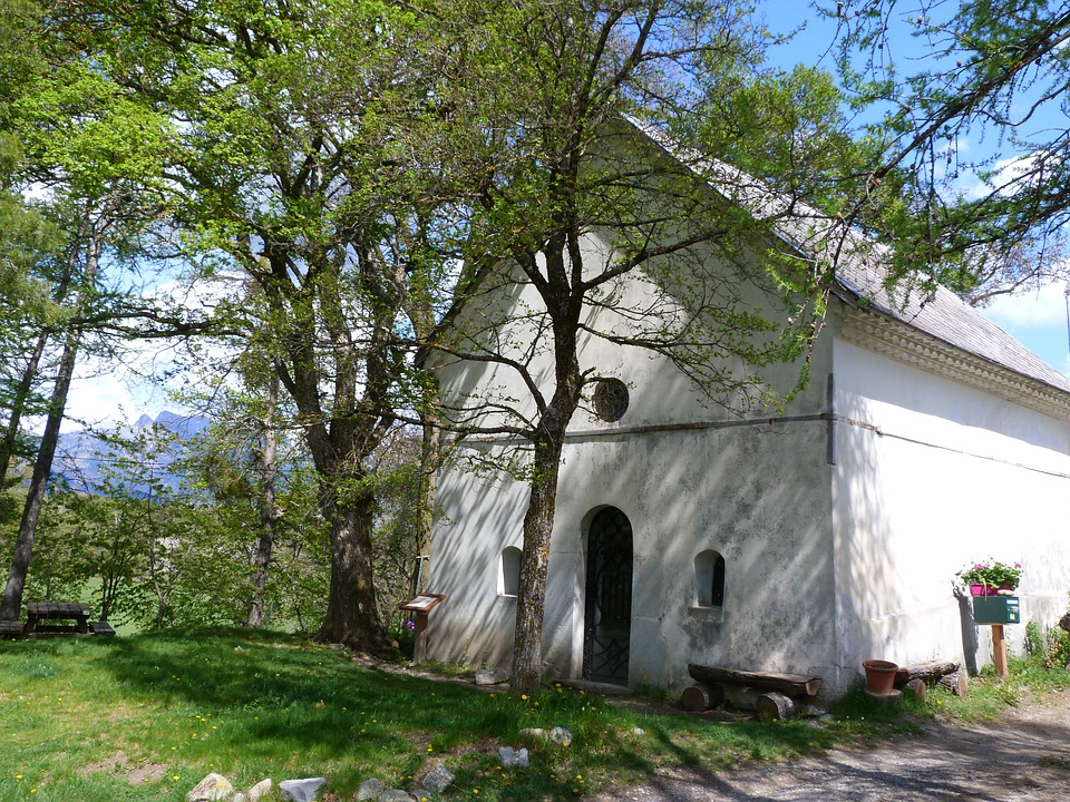 Building, Religious, Hermitage, Former, Chapel, Small