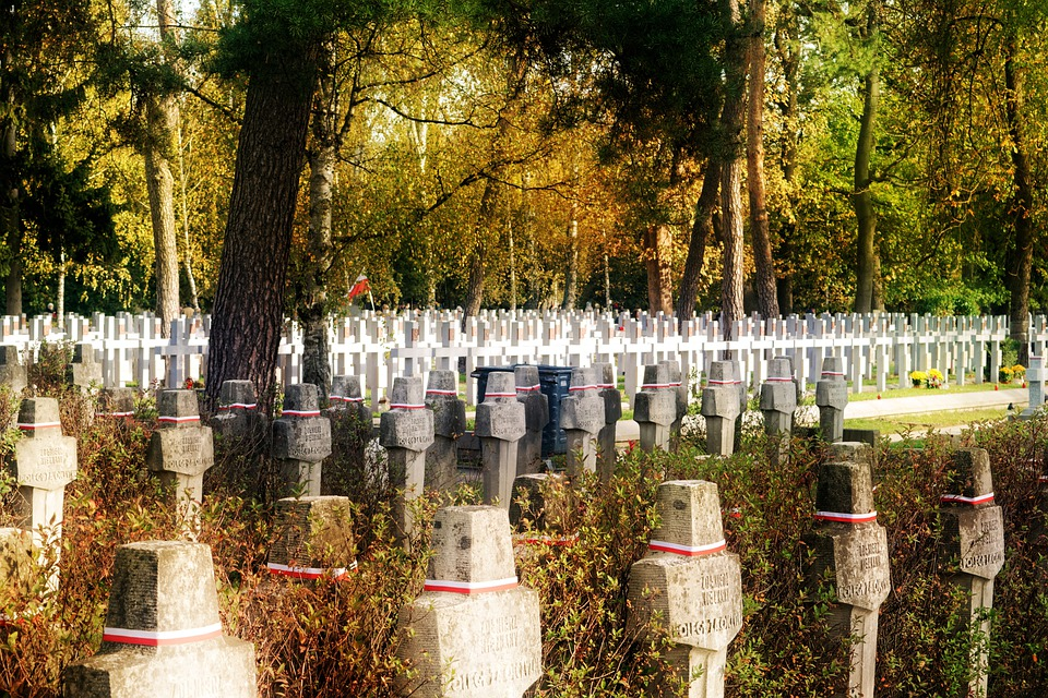 Landscape, Autumn, Cemetery, Heroes, The Fallen, War