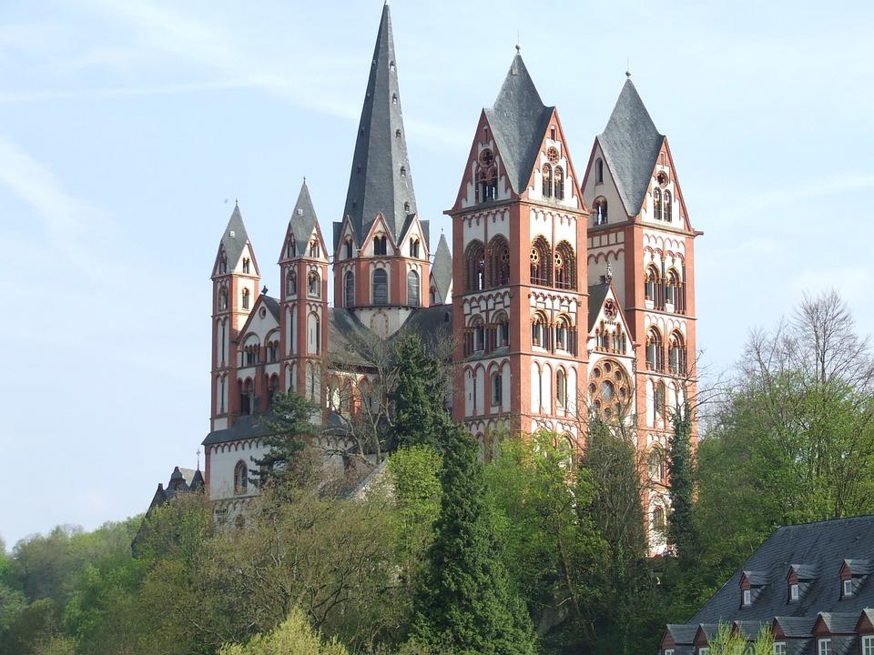 Limburg, Germany, Hesse, Dom, Church, Building, Steeple