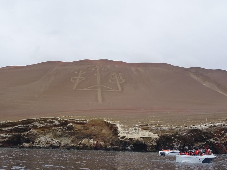 Mysteries, Peru, Sea, Hieroglyphic, Drawing, Writing