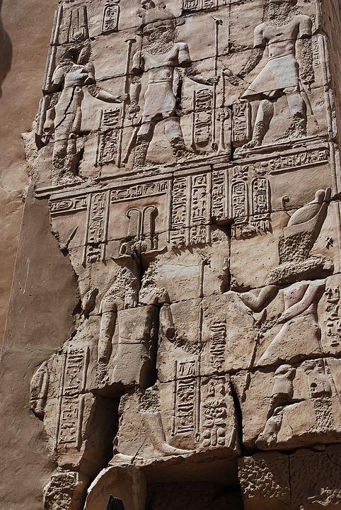 Egypt, Hieroglyphs, Temple