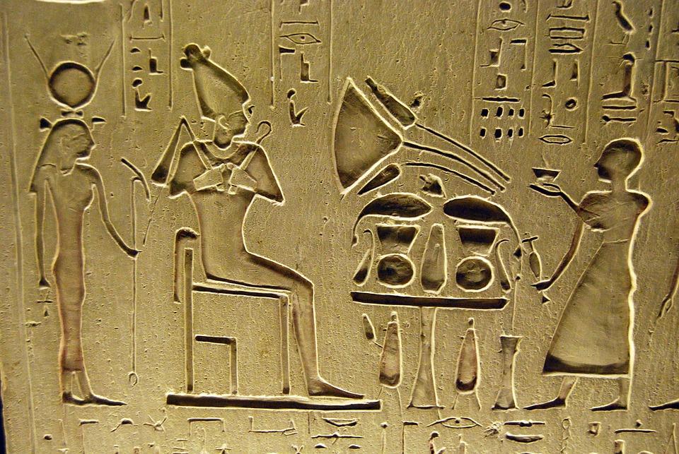 Hieroglyphs, Writing, Egyptian, Pharaoh, Slaves