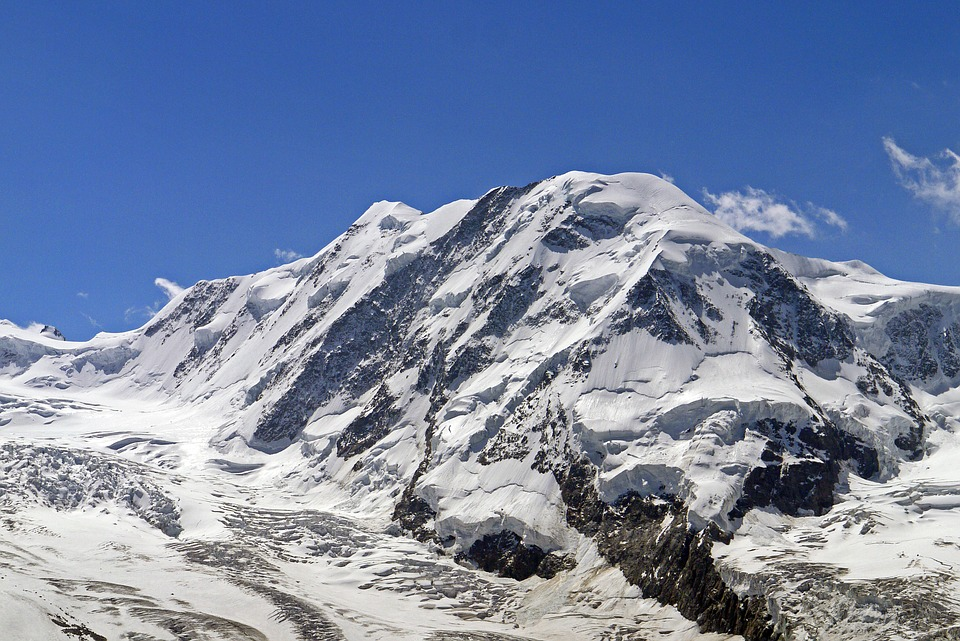 High Alps, Breithorn, Monte-rosa-group, 4164 Meters