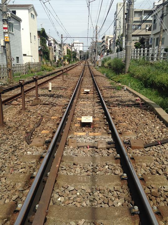 Track, Toyoko, High Angle View