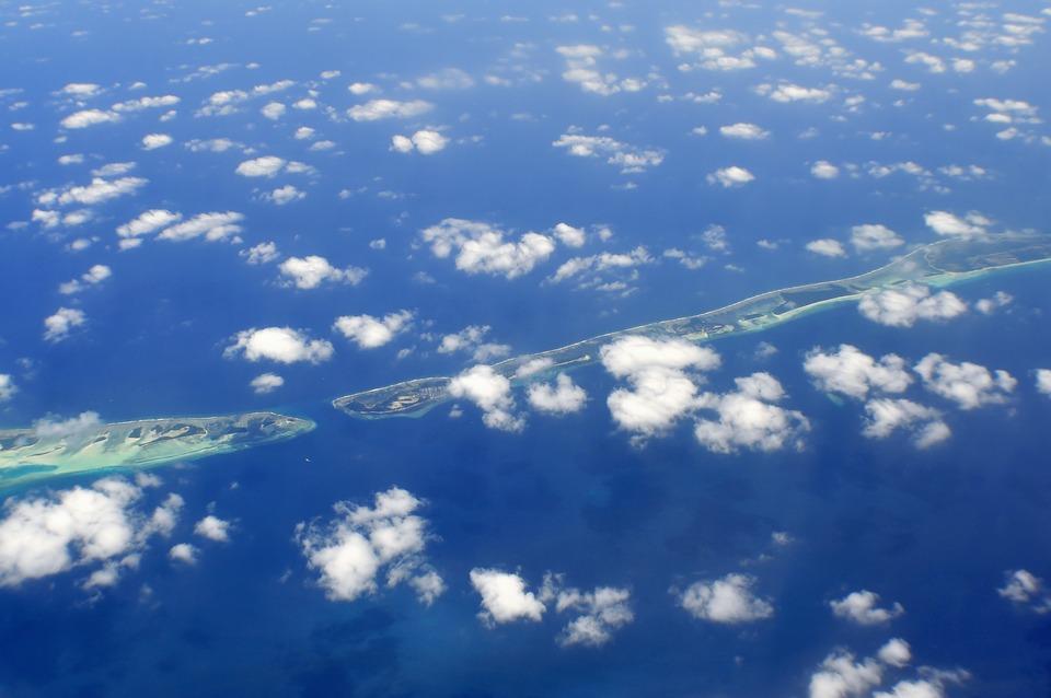 Air, Beach, Clouds, Coast, Coastline, High, Islands