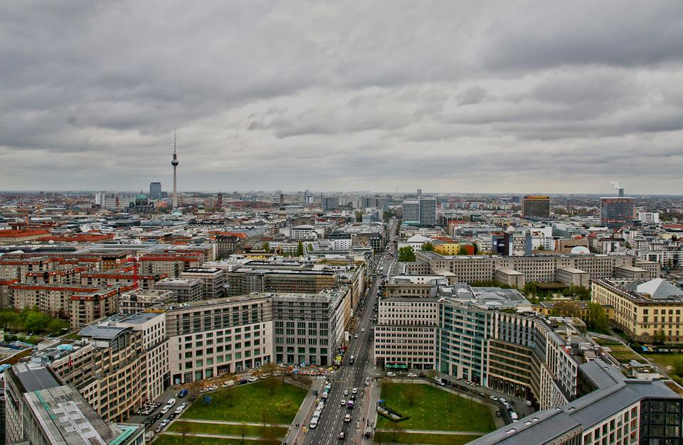 Berlin, Homes, Tv Tower, Building, Sky, Top, High