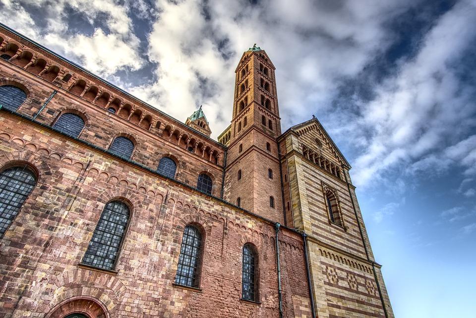 Dom, Church, Believe, Tower, High, Building, Sky, Blue