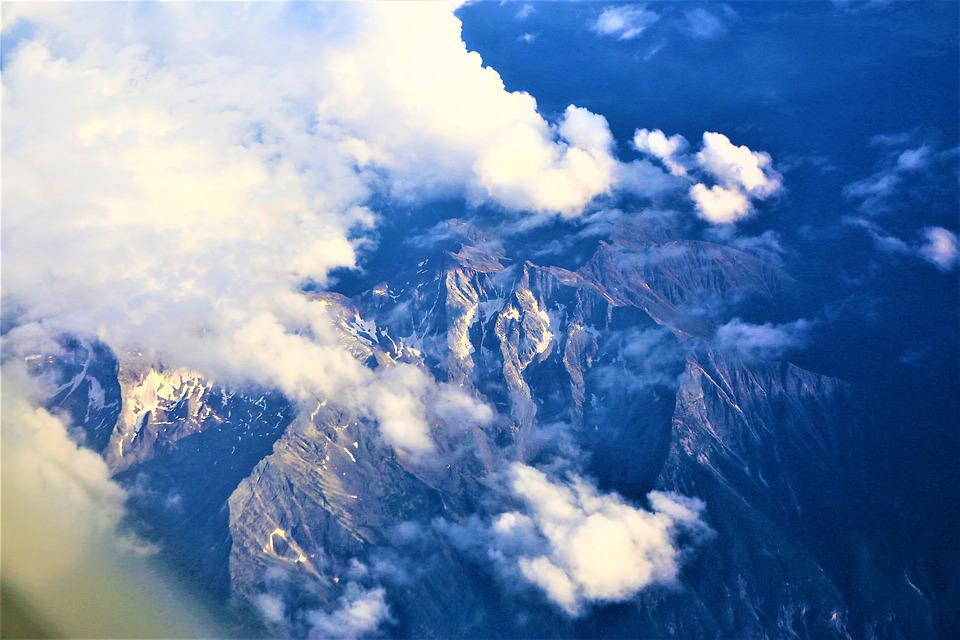 Mountains, Clouds, Sky, Atmosphere, Highlights, High