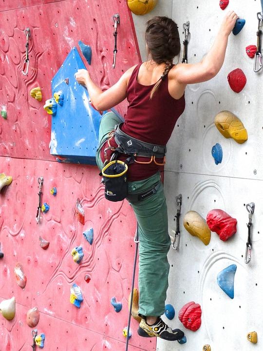 Climber, Agile, Fit, Sporty, Courageous, High, Climb