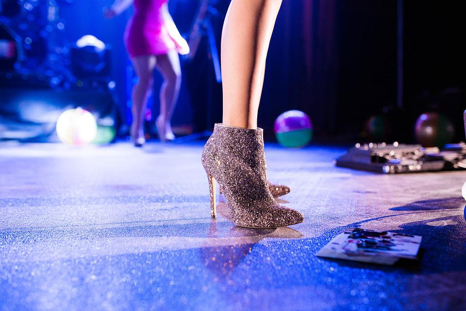 Adult, Ball, Blur, Club, Fashion, Fun, Girl, High Heels