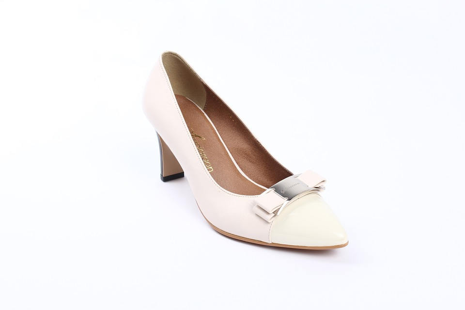 High Heels, Wedding, Wedding Shoes, White Shoe, Shoe