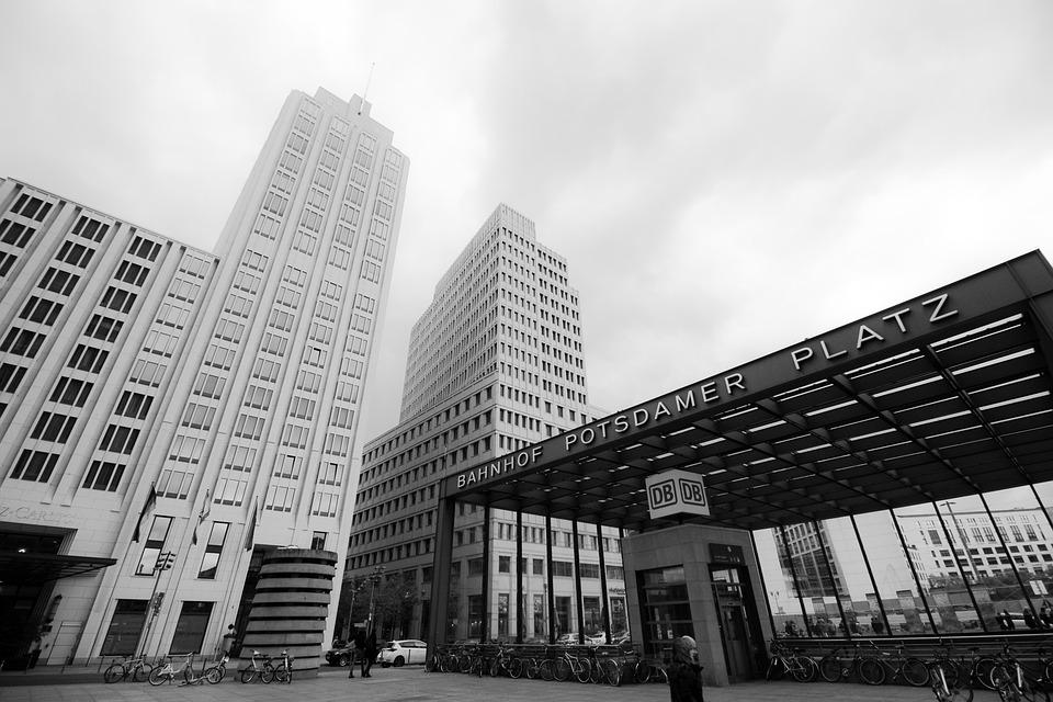 Hotels In Berlin, Germany, Potsdam Square, House, High