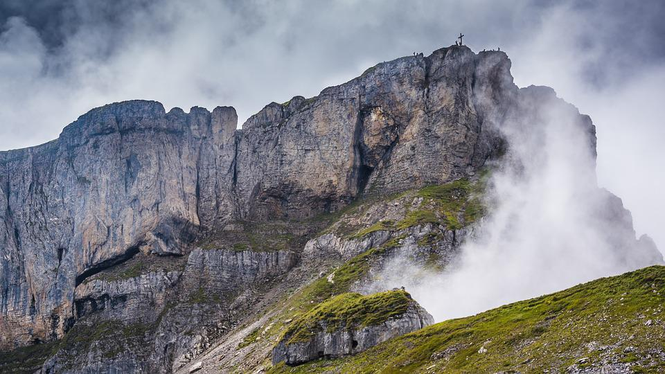 High Ifen, Kleinwalsertal, Alpine, Nature, Clouds, Fog
